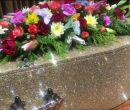 Glitter coffin in a choice of colours